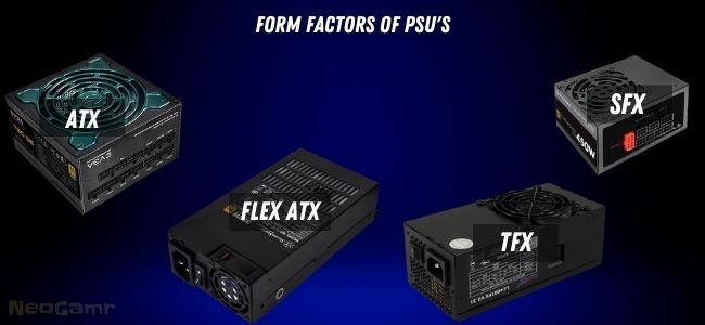 Image of Form Factors of PSU's