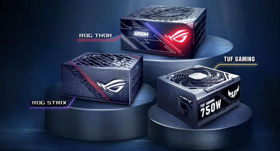 Image of Highs Tier ASUS PSUs