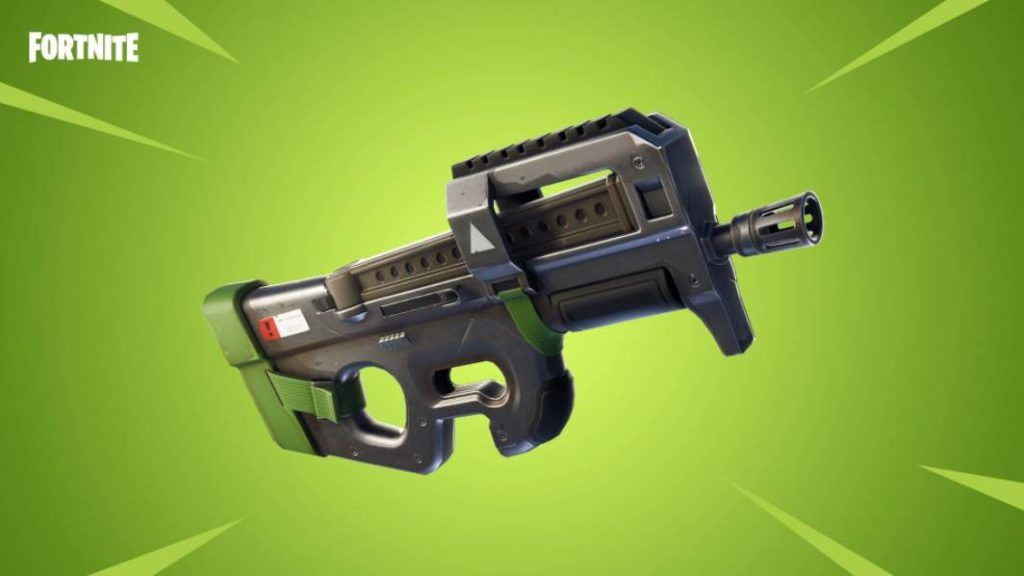 Image of Legendary P90 in fortnite