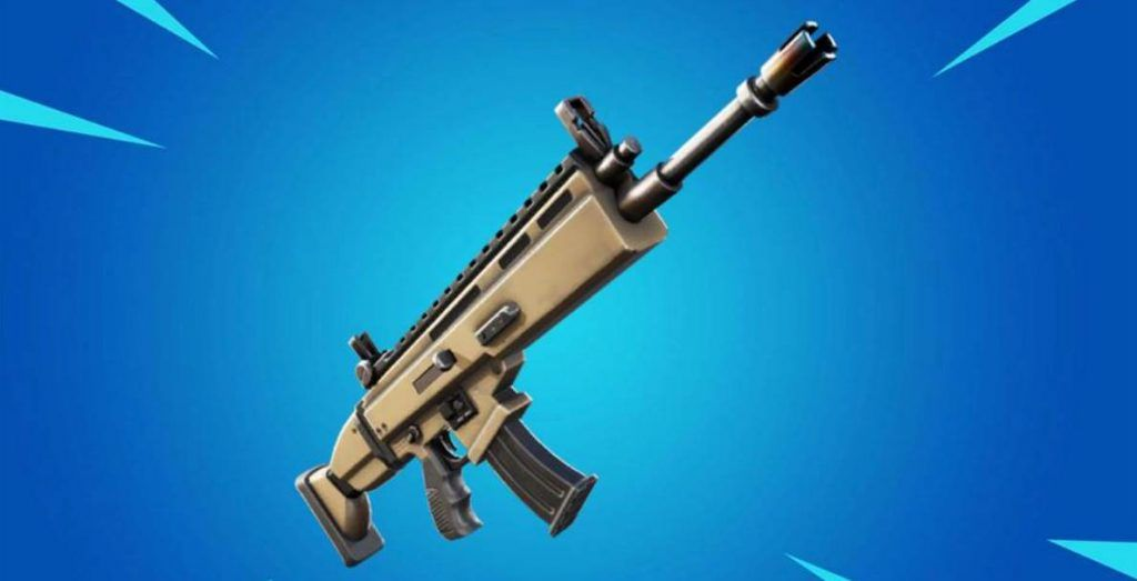 Image of Legendary SCAR in Fortnite