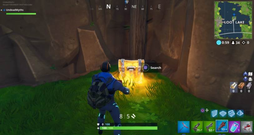 Image of Loot Chest in Fortnite