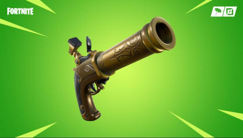 Image of a pistol in fortnite