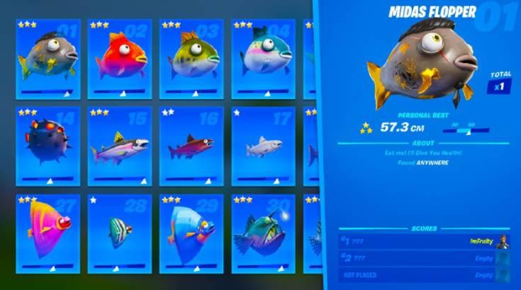 Image of fish in fortnite