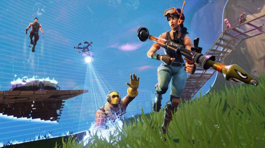 Image of three fortnite character
