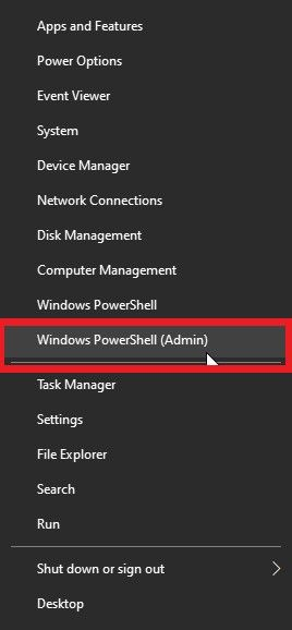 """Yes"""" for the Windows prompt"""