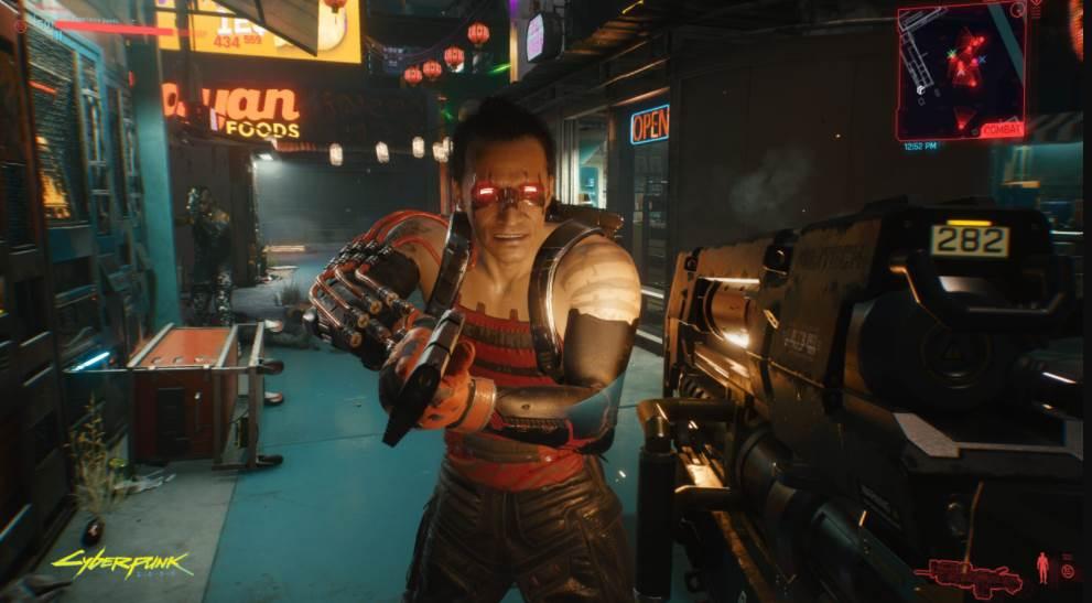 Image of Cyberpunk gameplay