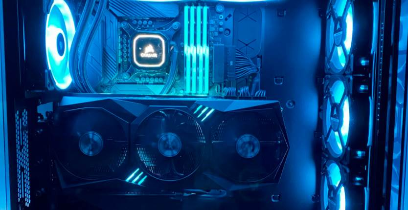 gaming pc build with rtx 3080