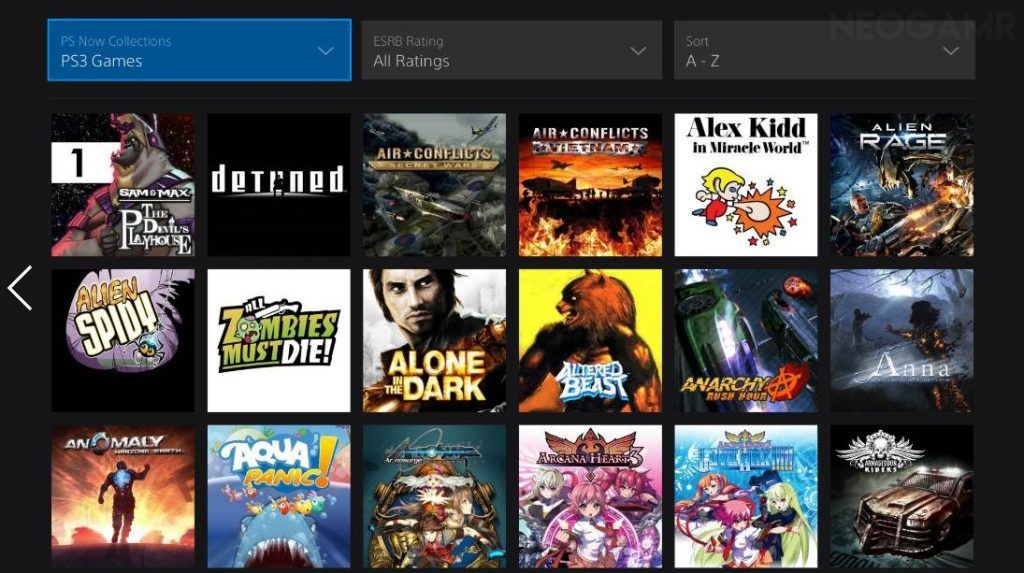 All PS3 Games Available on Ps Now