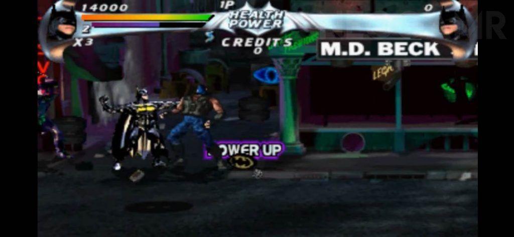 Batman Forever Arcade Version