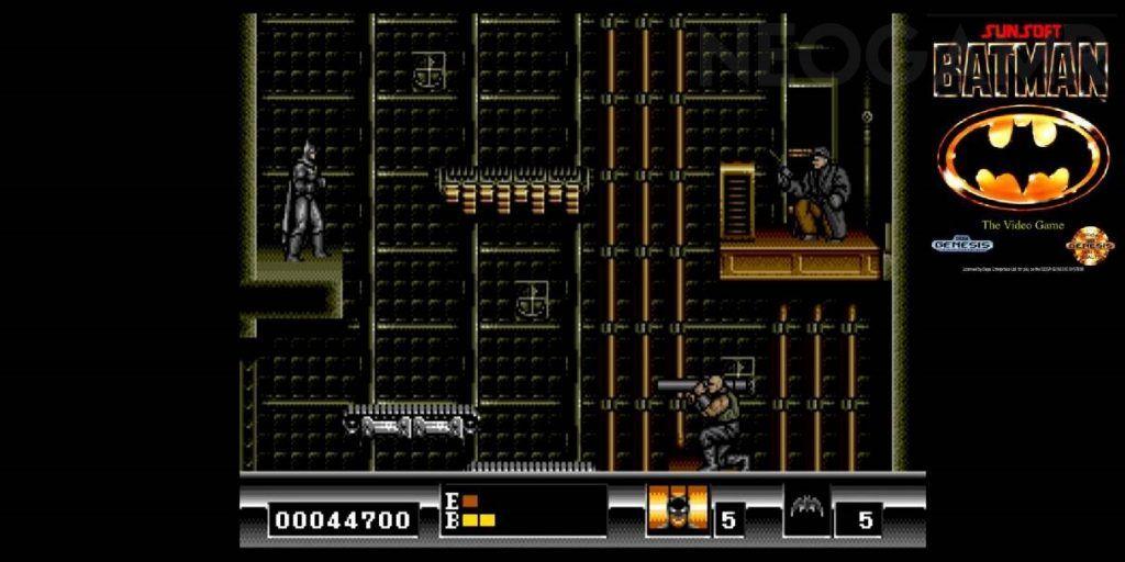 Batman The Video Game on Genesis
