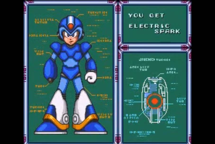 Electric Spark weapon in mmx