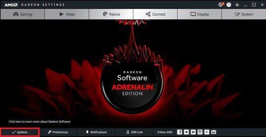 Image of AMD UI
