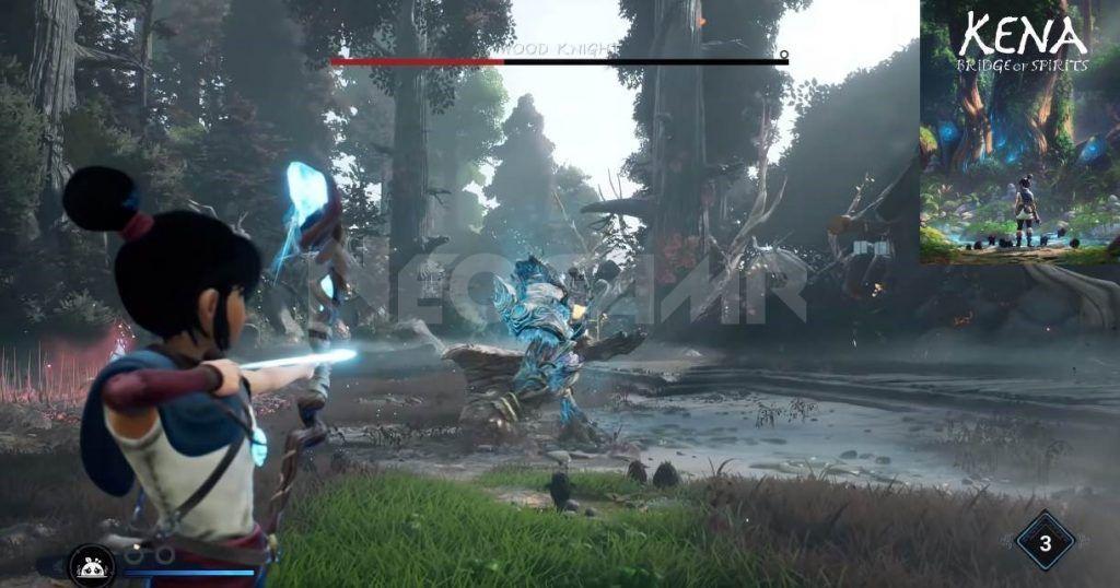 Image of Kena Bridge of Spirits Gameplay