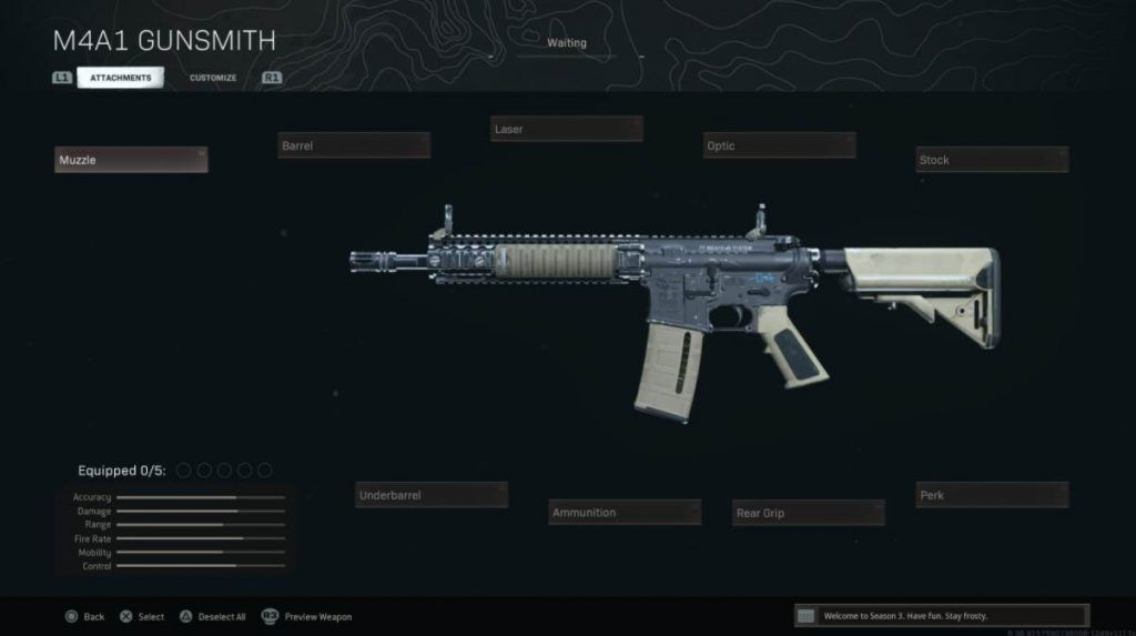 Image of M4A1 In Warzone