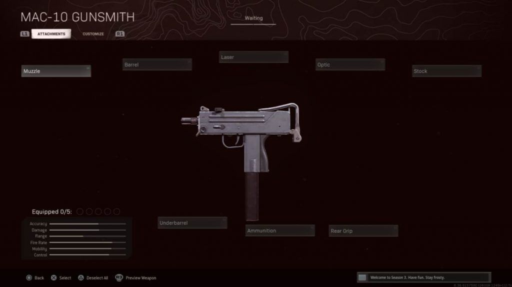 Image of MAC 10 In Warzone