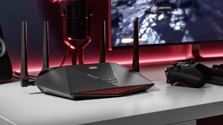 Image of Nighthawk pro router with a controller