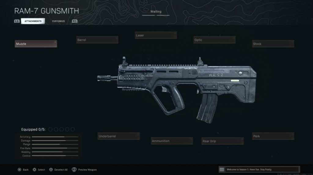 Image of RAM 7 In Warzone