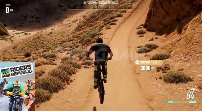 Image of Riders Republic gameplay