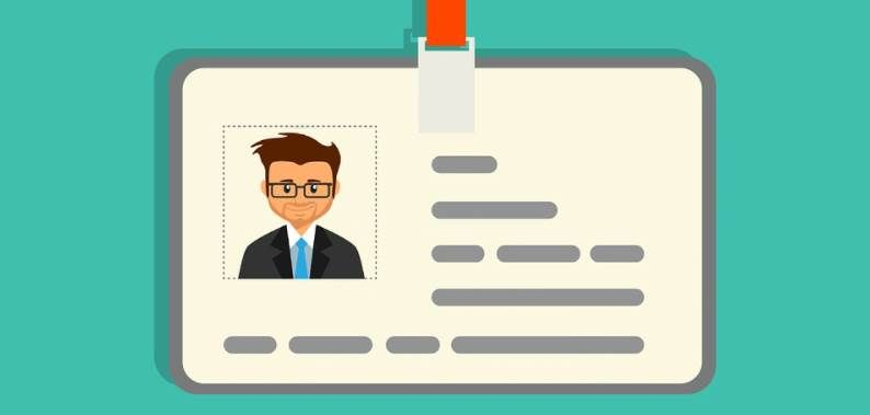 Image of a ID Cards Vector