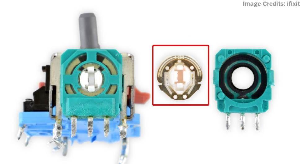 Image of a controller stick wiper