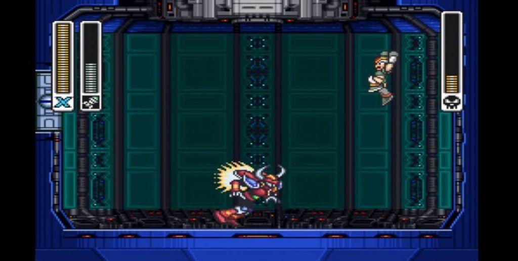 MMX Boomer Kuwanger Boss Fight image 2