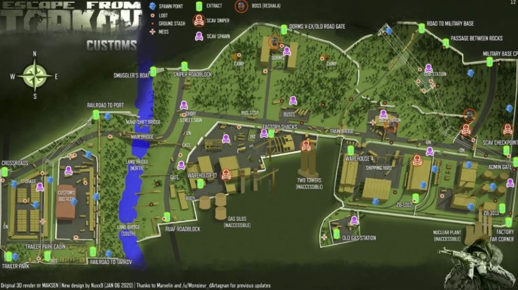 Map of the EFT Game