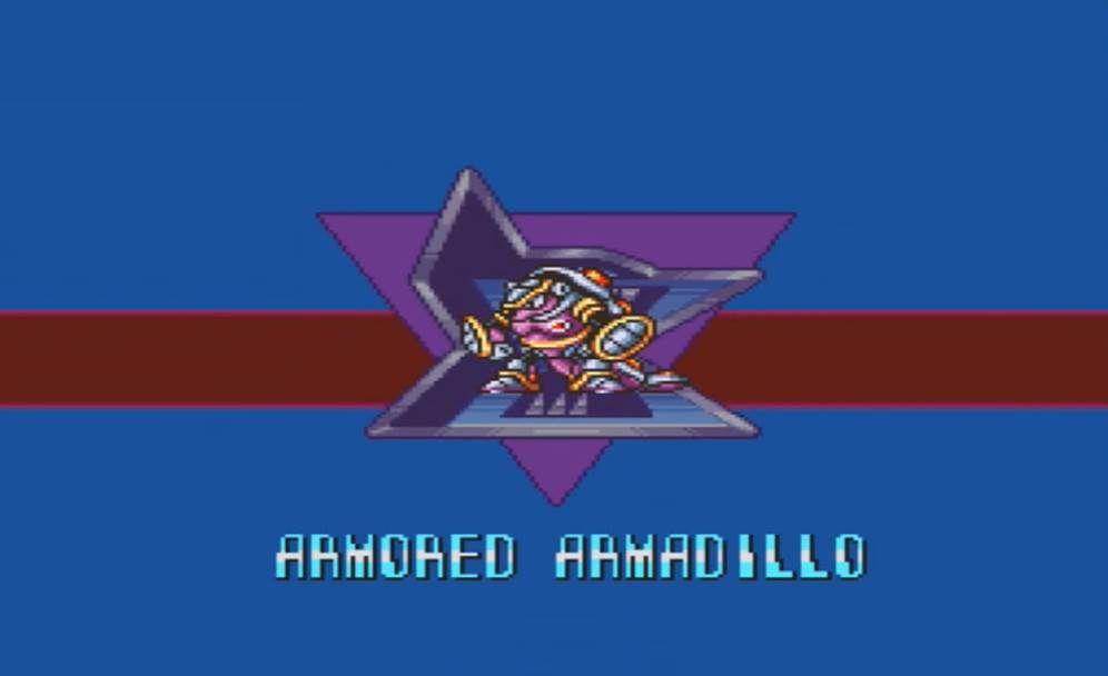 Mega Man X Armored Armadillo Intro