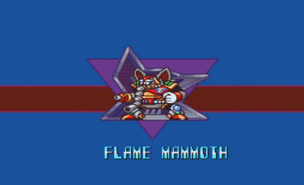 Mega Man X Flame Mammoth Intro