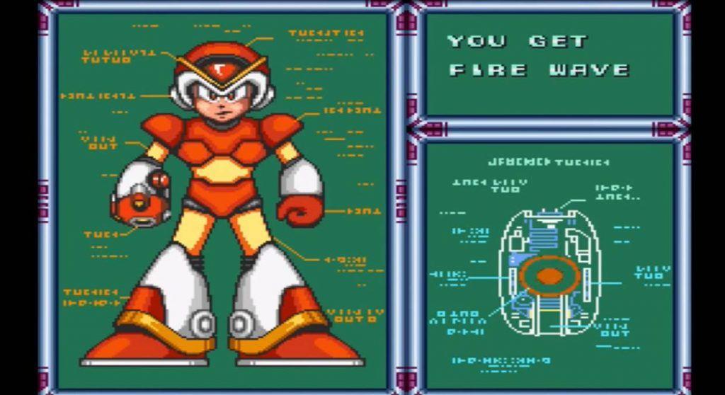 Mega Man X Flame Wave Weapon