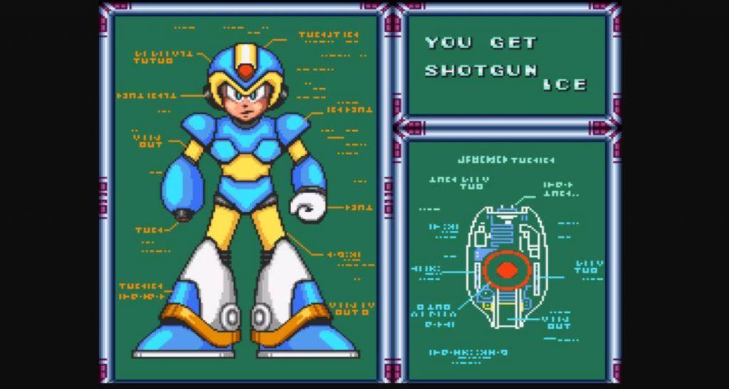 Mega Man X Shotgun Ice