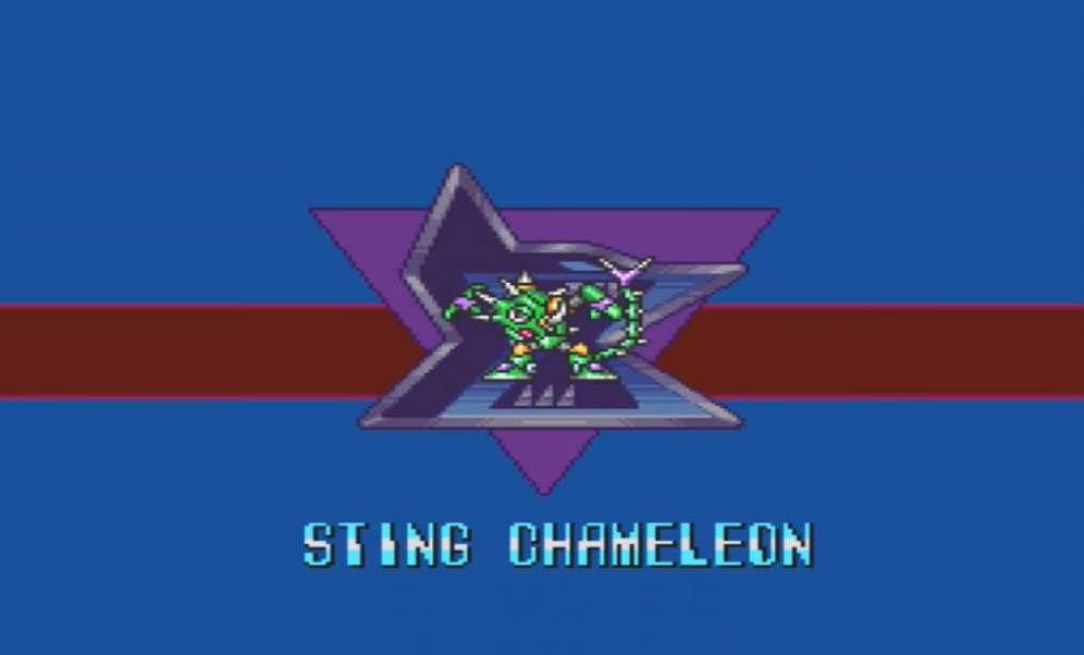 Mega Man X Sting Chameleon Intro