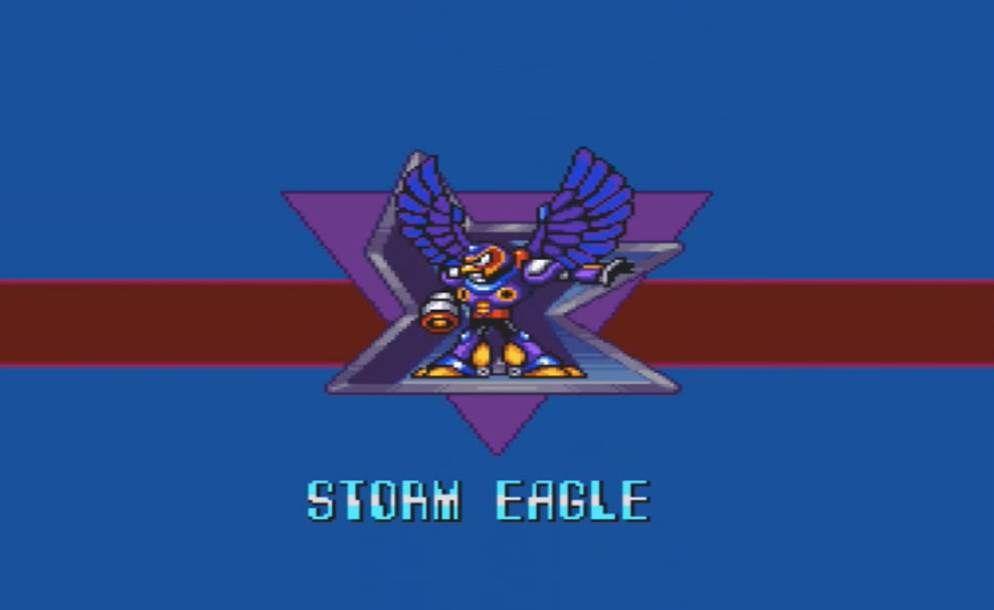 Mega Man X Storm Eagle Intro
