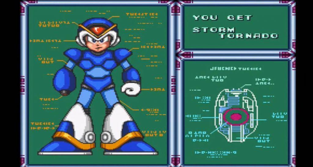 Mega Man X Storm Tornado Weapon