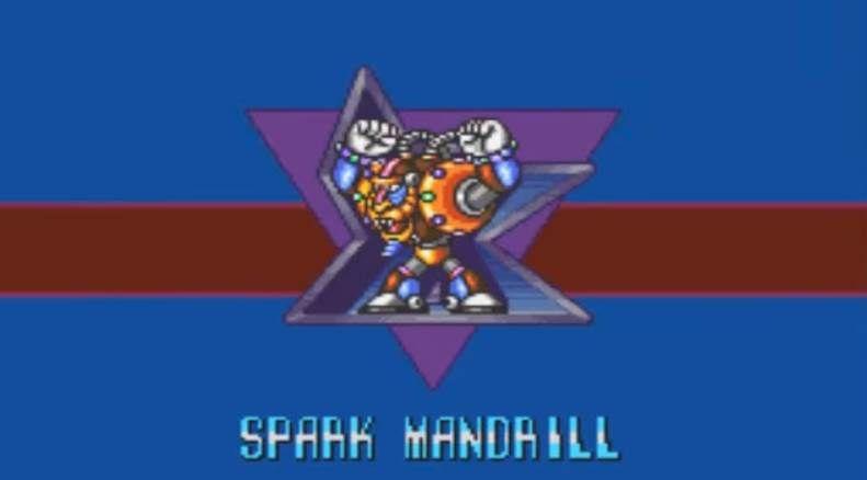 Megaman spark mandrill intro
