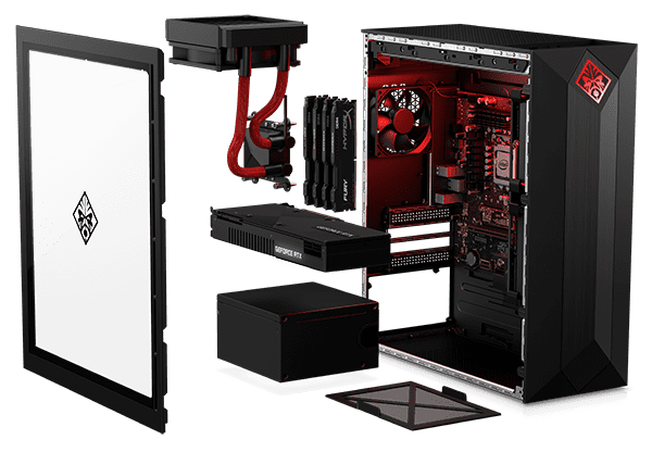 Opening the pc casing