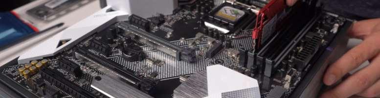 Preparing the motherboard