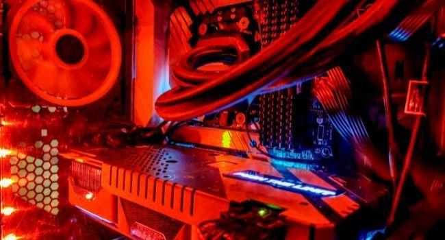 RBG Lights inside a gaming PC