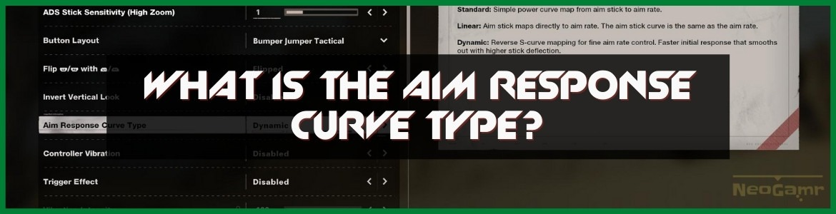 What is the Aim Response Curve Type