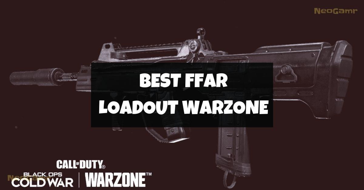 best ffar loadout warzone