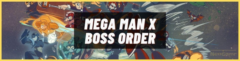 boss order mega man x
