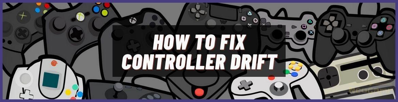 how to fix ps4 controller drift