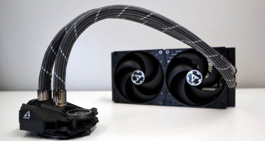 image of AIO liquid cooler
