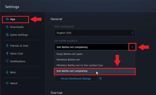 image of battle.net exit