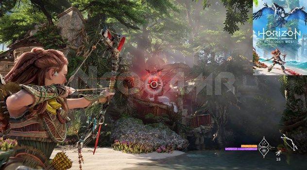 image of horizon forbidden west gameplay