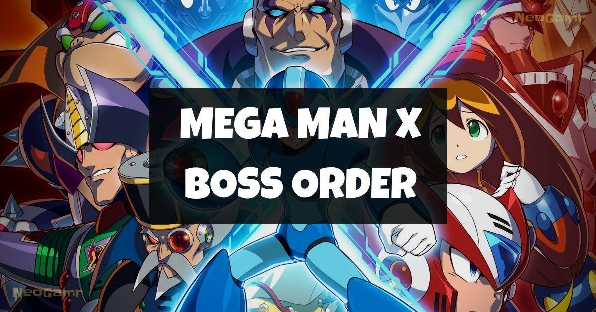 mega man x boss order