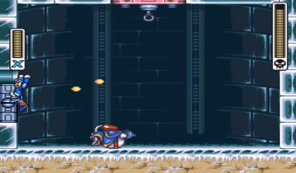 slide attack of first boss in mega man x