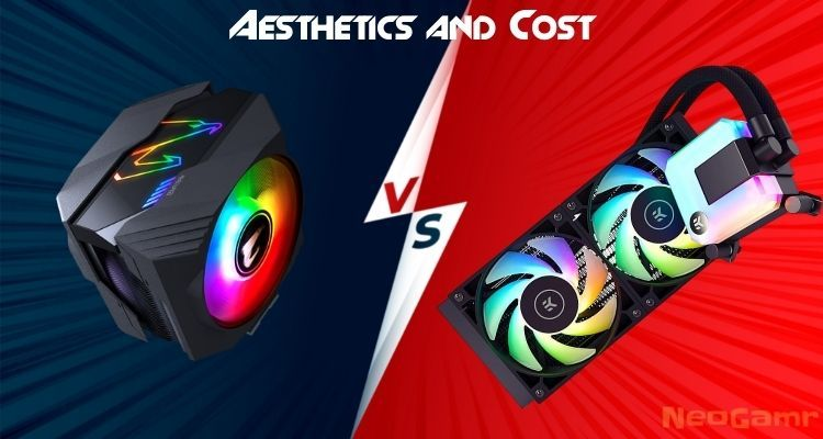 Aesthetics and Cost of liquid cooler vs air cooler