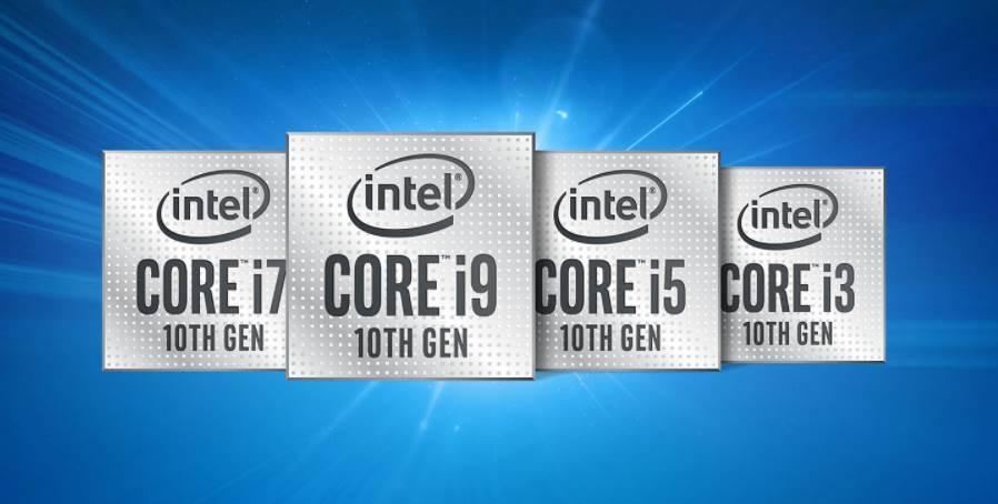 All Core 10th Gen Intel CPU