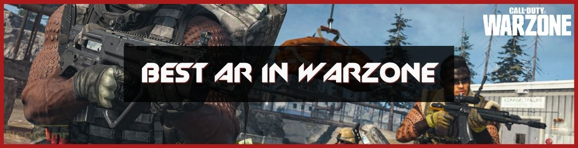 Best AR In Warzone cover