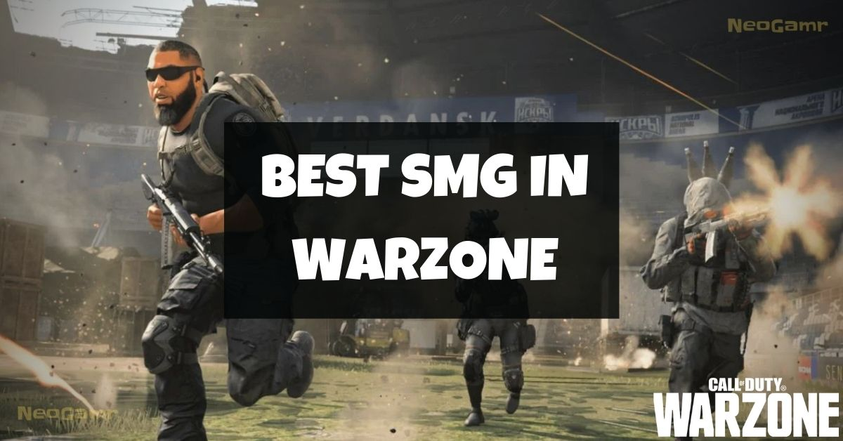 Best SMG Warzone